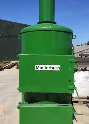 MB400V incinerator
