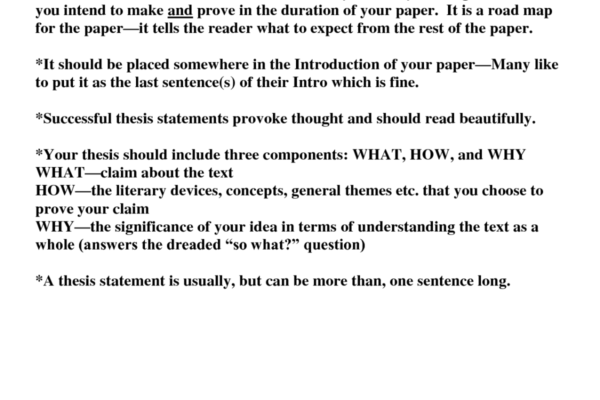 How to write an essay about theme