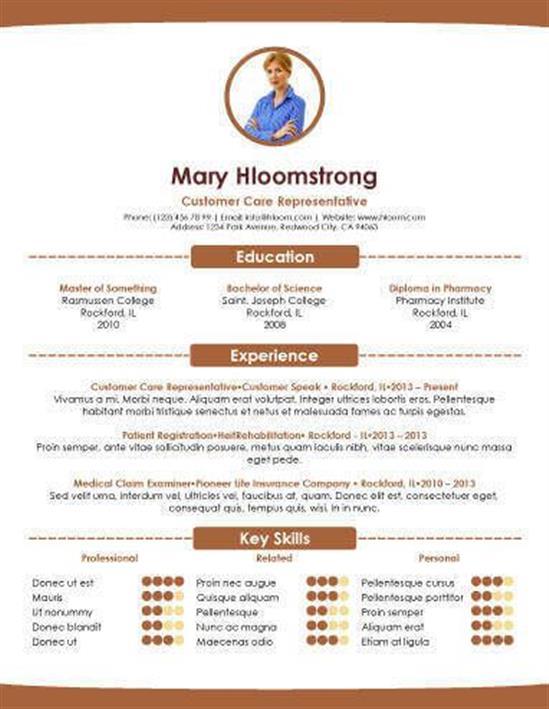 resume kerja doc