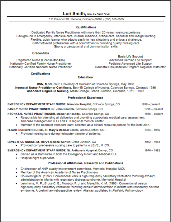 resume education and certifications