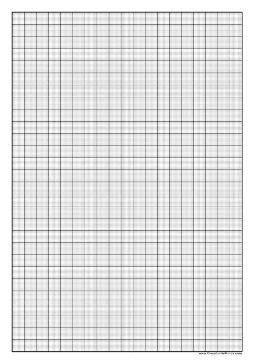 How can you Print a Graph Paper?