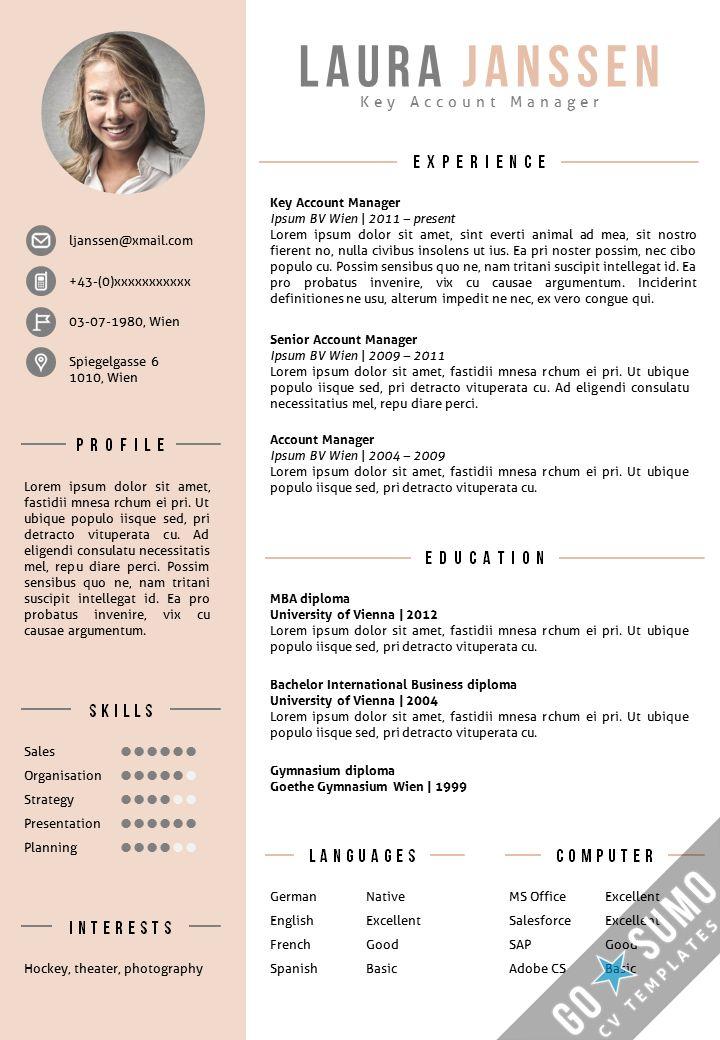 photo resume templates