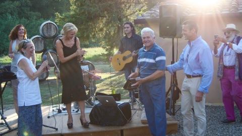 Sting e Trudie concerto privato destate in Toscana  ObiettivoTre