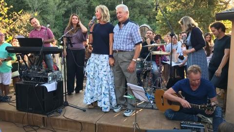 Nozze dargento per Sting e Trudie Styler in Toscana  ObiettivoTre