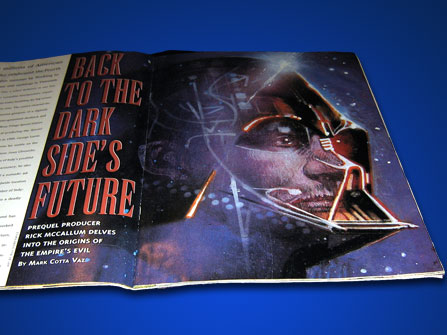 Star Wars Galaxy interview by Mark Cotta Vaz with Rick McCallum about Palpatine and his apprentice Darth Vader.
