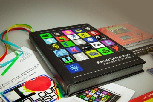 A must buy for a everyone: Sam Dyer's ZX Spectrum: A Visual Compendium is not simply captivating journey into computing history, it is a recreation of a singular computing experience and social evoluation. Photo by Andreas Wanda.
