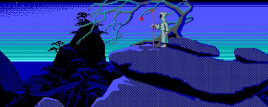 """Loom by LucasArts was also released on CD-ROM as a """"full-talkie"""" version. Click to play the You Tube video."""
