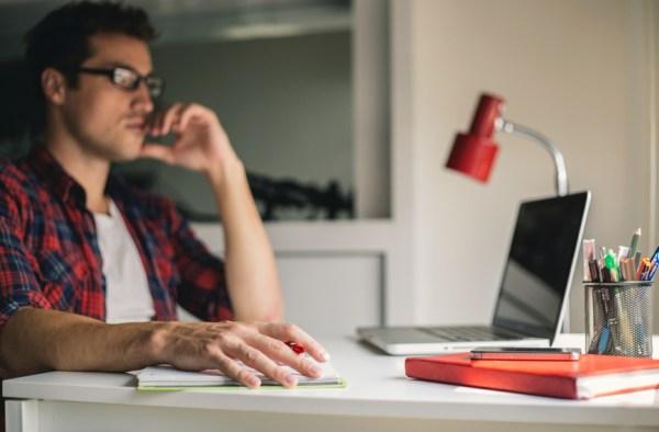 Virtual Home Working - stocksy