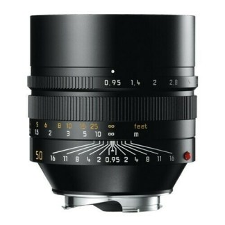 Leica M Noctilux  noir face