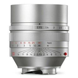 Leica M Noctilux silver face