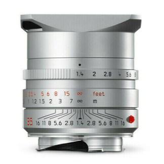 Leica M Summilux 35mm silver para face