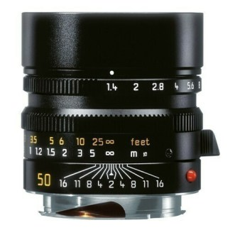 Leica M Summilux  noir face