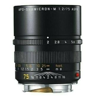 Leica M Apo Summicron 75mm