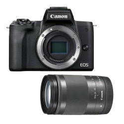 Canon EOS M50 Mark II noir 18-150 mm appareil-photo-hybride
