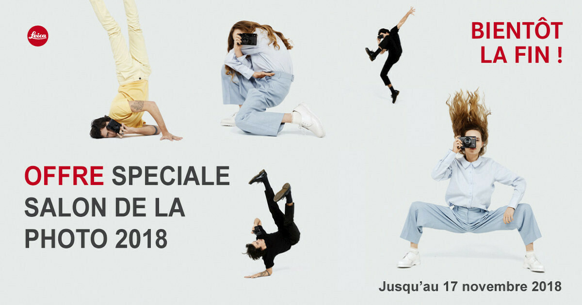 offre Leica - salon de la photo Paris 2018