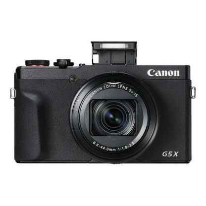 Canon PowerShot G5X mark II - face flash