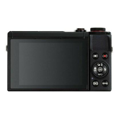 Canon PowerShot G7X mark III Noir - dos