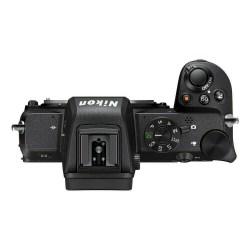 Nikon Z 50 - dessus