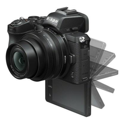Nikon Z50 + Z DX 16-50 - écran pivoté