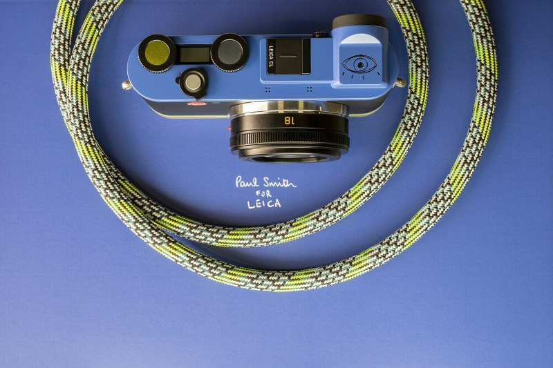 Ambiance Leica CL - Paul Smith - Dessus