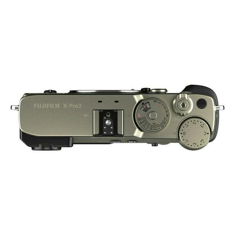 Fujifilm X Pro3 Dura Silver Dessus