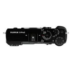 Fujifilm X Pro3 Noir Dessus