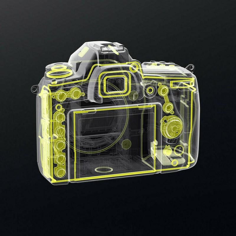 Nikon D780- Dos étanchéïté