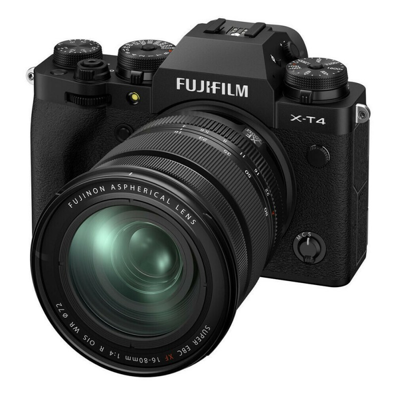 Fujifilm X-T4 + XF 16-80 - Noir - face 2