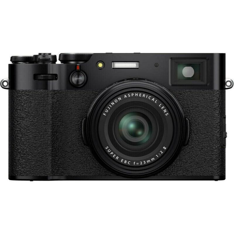 Fujifilm X100V - Noir - face