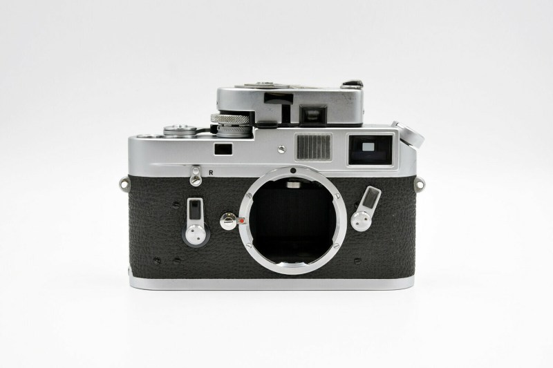 Leica M4 chrome - 30977 face