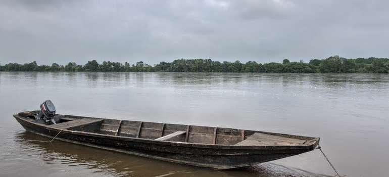 Le Thoureil lors des innondations de juin