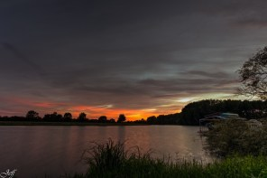 Ecouflant coucher de soleil sur la sarthe 12