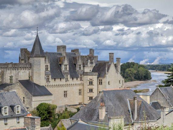 Montsoreau visite du village-le château de Montsoreau (1)