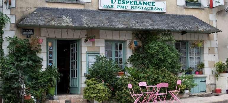 Brissac-Quincé le village a comme un air de vacances