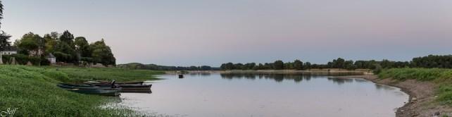Visite à la Pointe Bouchemaine au coucher de soleil entre la Loire et la Maine (8)