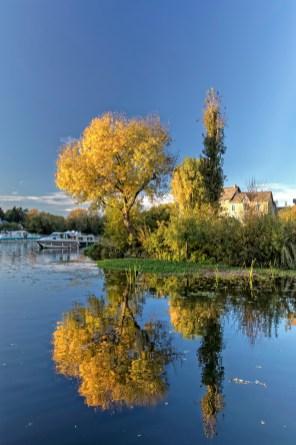 Grez-Neuville un décor flamboyant