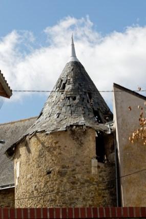 La jumelière et son château