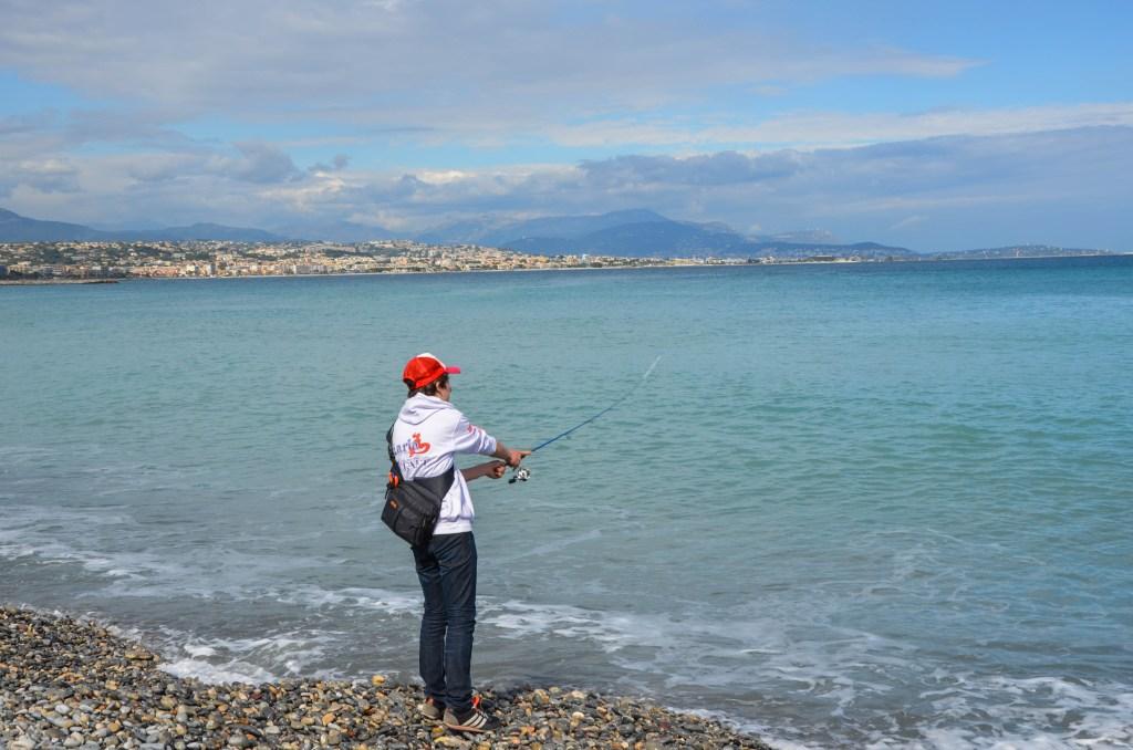 rockfishing plage