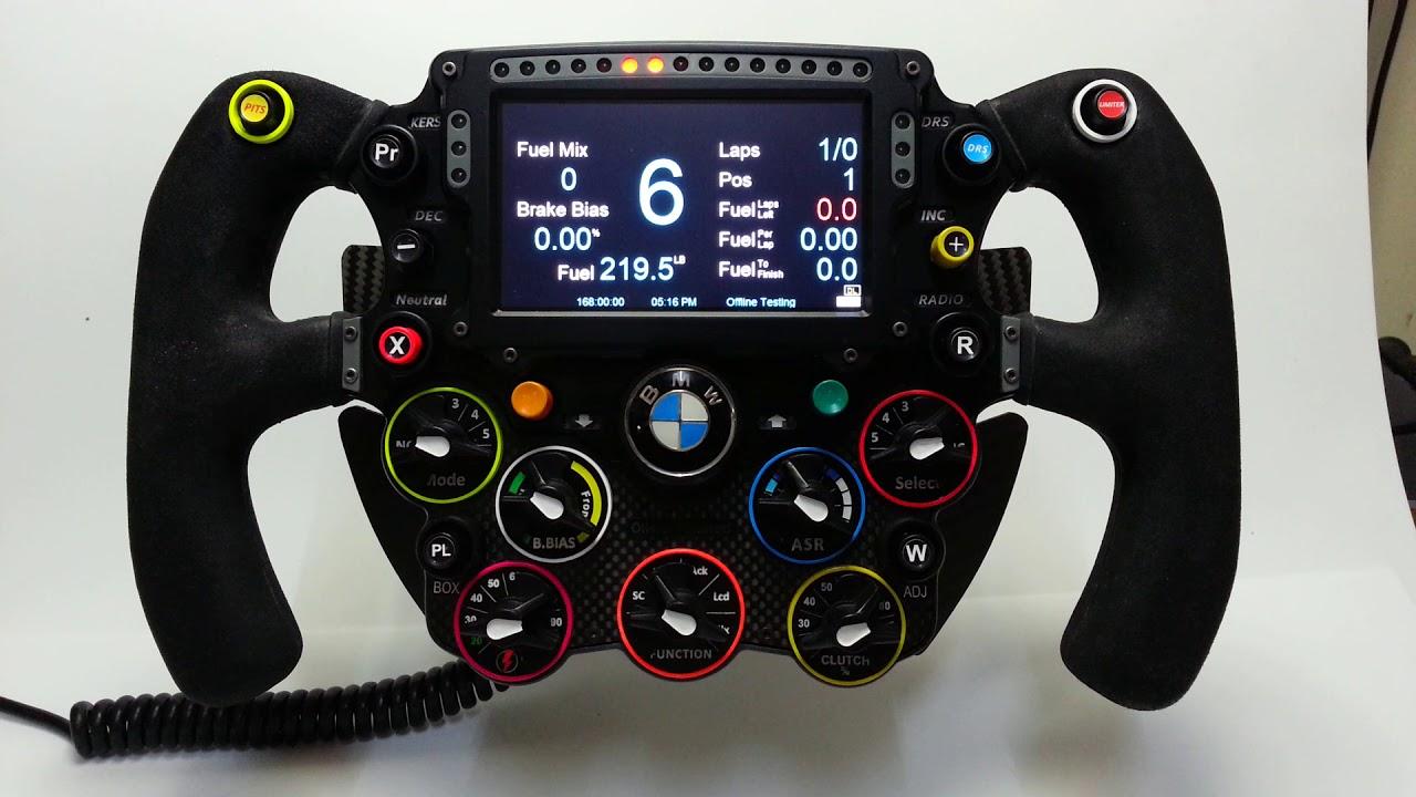Volant F1 2016 Leopoldo Remet Le Couvert Objectif Racing Le Hub Des SimRacers Sur PC