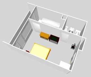 Plan de studio Paris