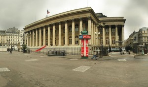 Bourse au actions Paris