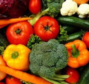 Légumes pour végétariens