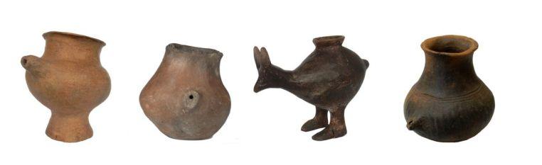 Бутылочки для кормления эпохи поздней бронзы (1200-800 гг. до н.э.), найденные в Австрии и Германии / ©Katharina Rebay-Salisbury, Bristol University