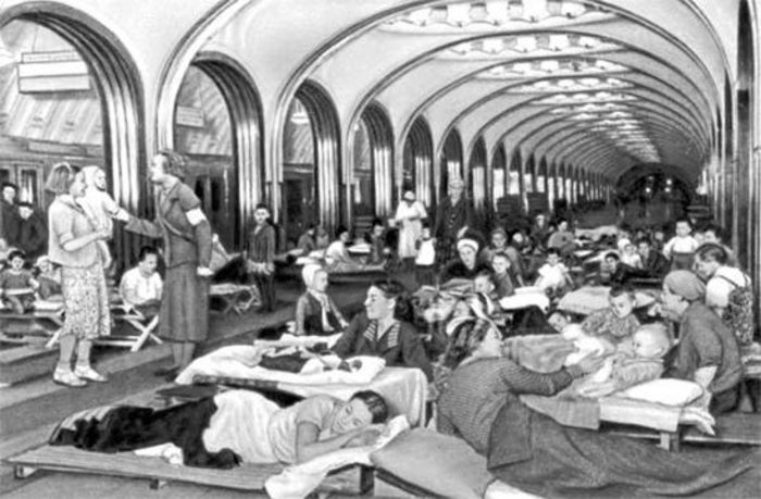 Московское метро в 1941 году