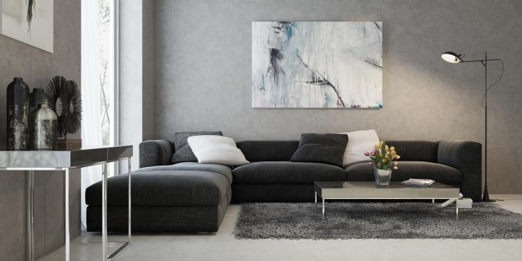 salon moderne objet deco design