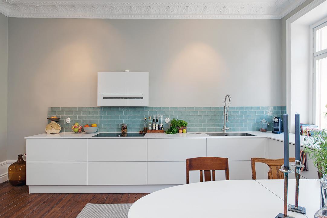 Apartamento seorial con mezcla de estilos