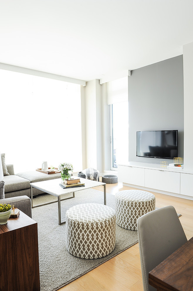 Blanco y gris Sencillez y elegancia