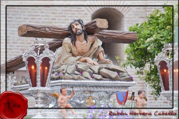 Jueves Santo 2015: Cofradía Gran Poder en su Tercera Caída y Amargura