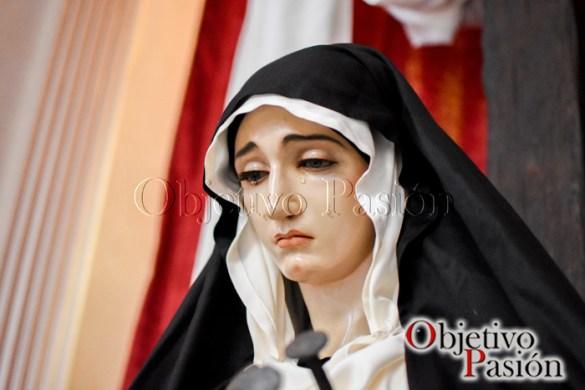Sábado Santo 2017: María Santísima de la Esperanza de luto