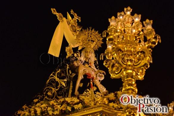 Viernes Santo 2017: Desfile procesional Angustias Coronada